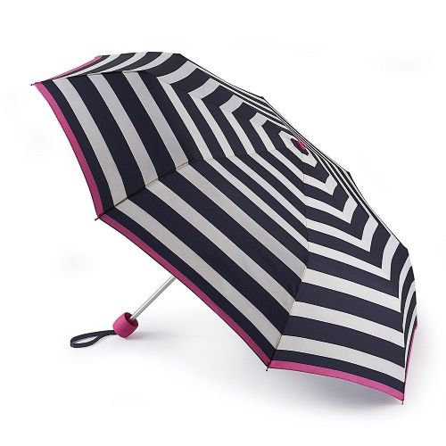 Joules Minilite-2 Wide Coastal Stripe Umbrella